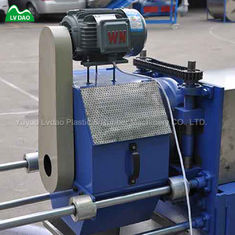 PVC Wire And Cable 500kg/H 150mm Plastic Recycling Line
