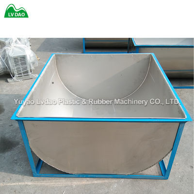Industrial 201 Stainless Steel Hopper For Cutting Machine