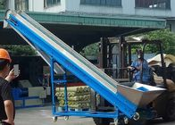 Stable Industrial Conveyor Magnets , Loading Height 2500mm Magnetic Separator Conveyor
