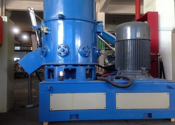 LLDPE Film Bags Plastic Agglomerator  Equipment Motor 45kw Effective Volume 150L Output 150kg/H