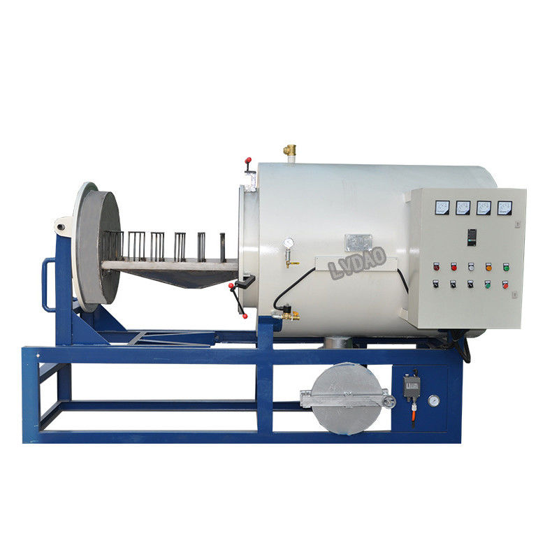 Filter recycling High efficiency energy saving plastic melting furnace /screen burning machine