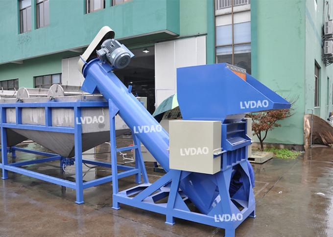 Simple Operation Plastic Washing Line Recycling With Custom Color High Efficiency
