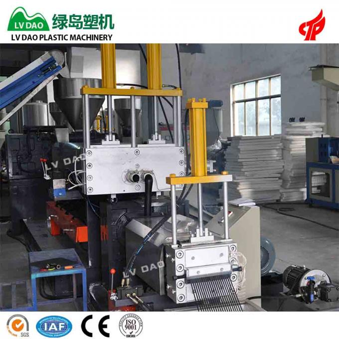 Automotive Components Plastic Recycling Equipment PP Scrap Recycling Line