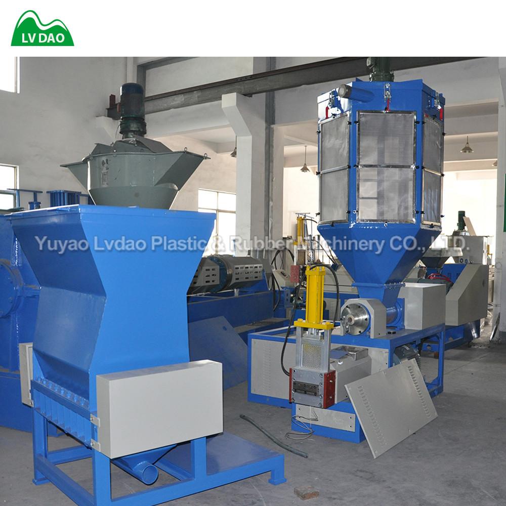 Eps Xps Plastic Granulator Machine Polystyrene Recycling Machine 1 Year Warranty