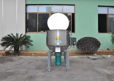China Stainless Steel Plastic Mixer Machine Weight 380kg With Wheel Low Speed 55r/Min factory