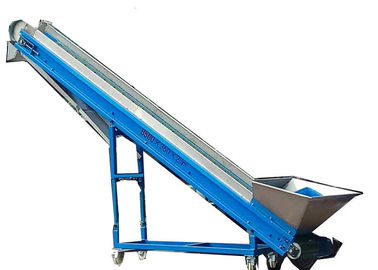 China 3000gauss Plastic Conveyor System 750w Loading Height 3000mm 10400*460mm Desk factory