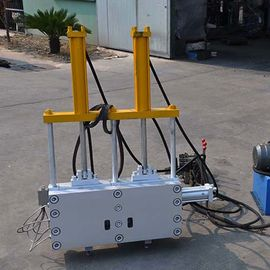 China 240*240 Double Hydraulic Screen Changer For Extruder , Double Clouds Out Screen Changers Plastic factory