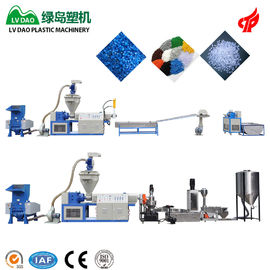 China Dry And Clean Pe Film Plastic Waste Shredder Automatic Grade 100 - 120kg/H Output factory