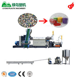 China Power 55 - 75kw PP Plastic Recycling Machine Plastic Granulation Production Line factory