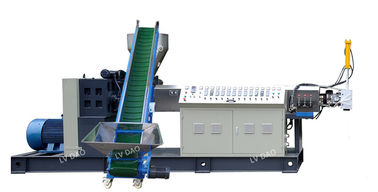 China Automatic Plastic Recycling Pellet Machine 55kw Power 200 - 250kg/H Capacity factory