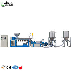 China High Capacity Plastic Recycling Line Customized Color Pvc Recycling Machine factory