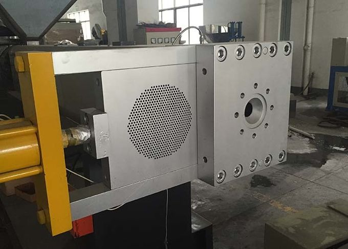 Steel Die Head Plastic Screen Changer Semi Continuous Hydraulic Slide Plate