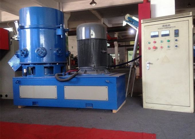 2500kg Plastic Recycling Machine , HDPE Fibers PVC Granules Making Machine