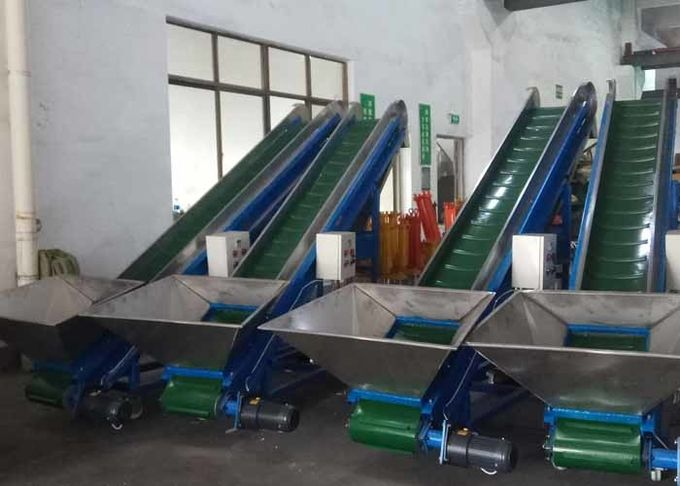 Magnet Plastic Conveyor System 1400 Loading Height  3mm Thickness Low Noise