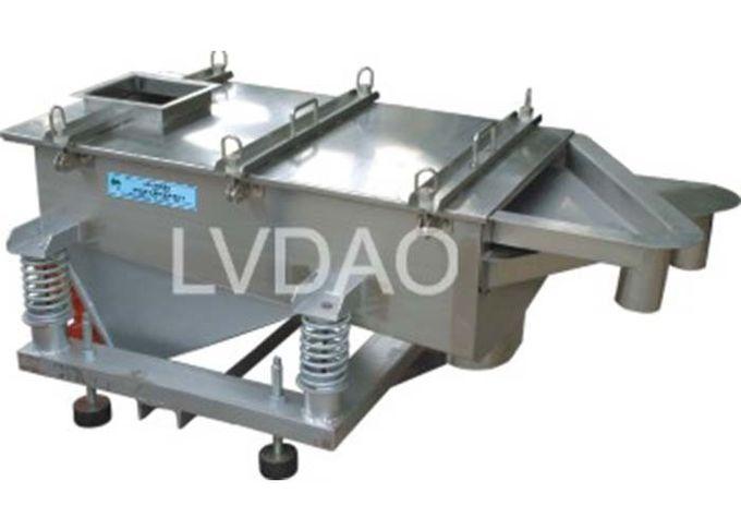 High Precision Vibro Screen Separator , Low Energy Consumption Vibrator Screening Machine